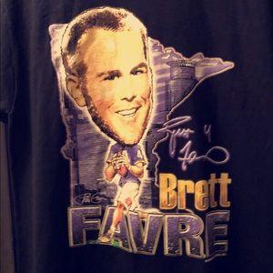 Brett Favre Minnesota Vikings t shirt